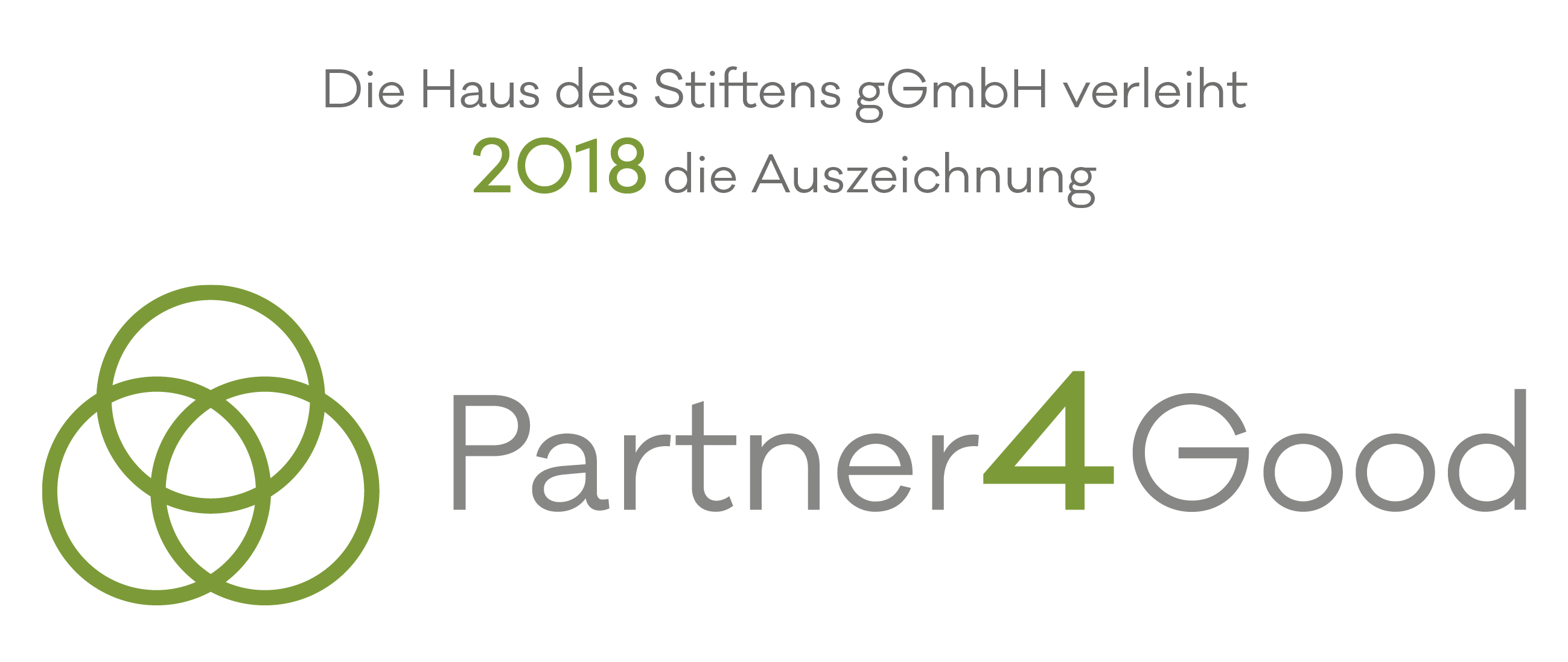 Partner4Good Award