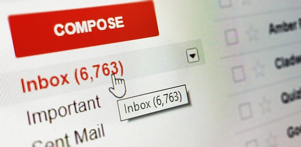 One of the most popular email services: Gmail.