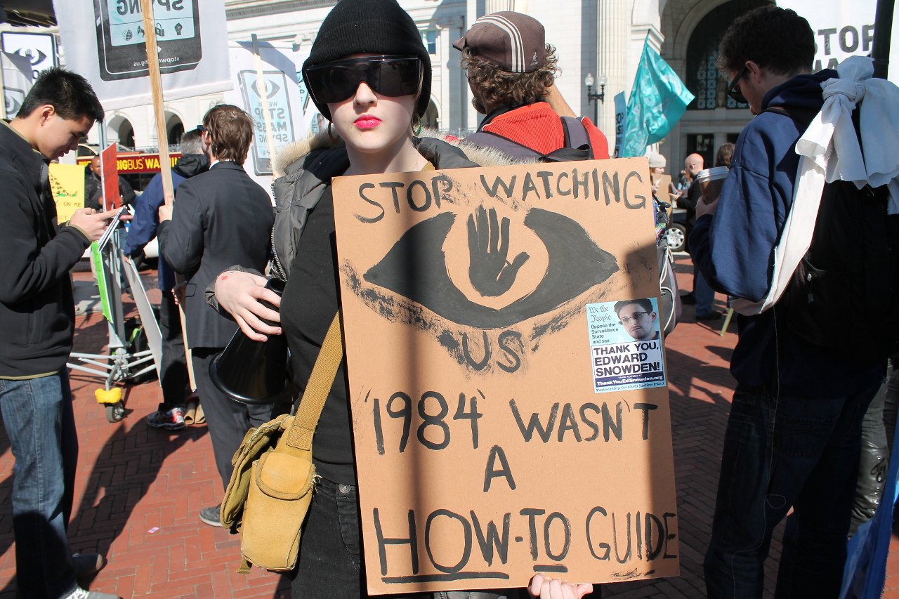 1984 wasn't a how-to guide